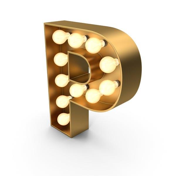 Знак шатра буква P