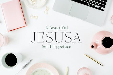 Jesusa Con serifa Font Family Pack