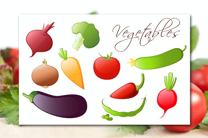 Thumbnail for Vegetables Icons