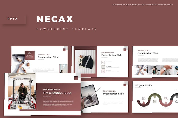 Cover Image For Necax - Powerpoint Template