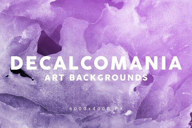 Decalcomania Artistic Textures 3