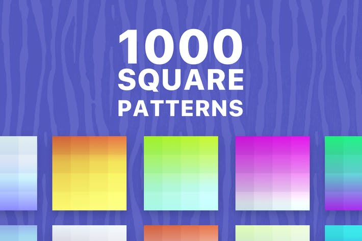 Thumbnail for 1000 Square Patterns