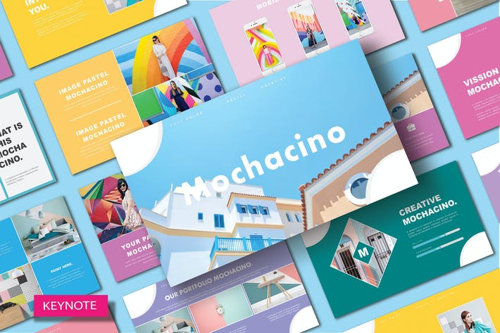 Thumbnail for MOCHACINO - Шаблон Keynote