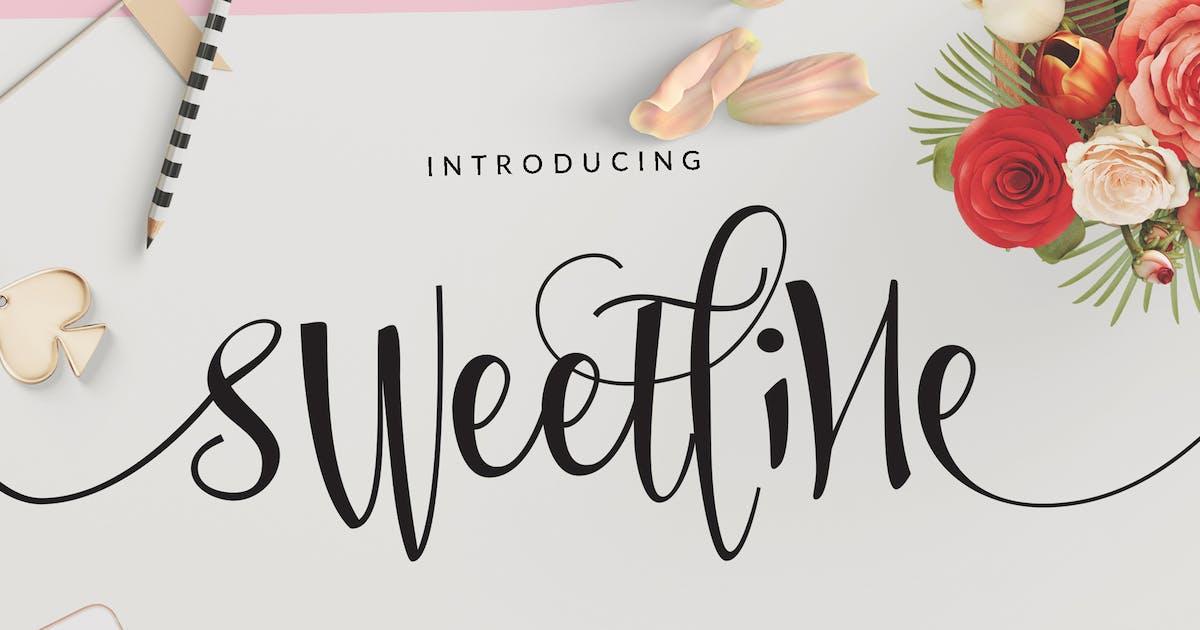 Download Sweetline Beautiful Script Font Wedding by dirtylinestudio
