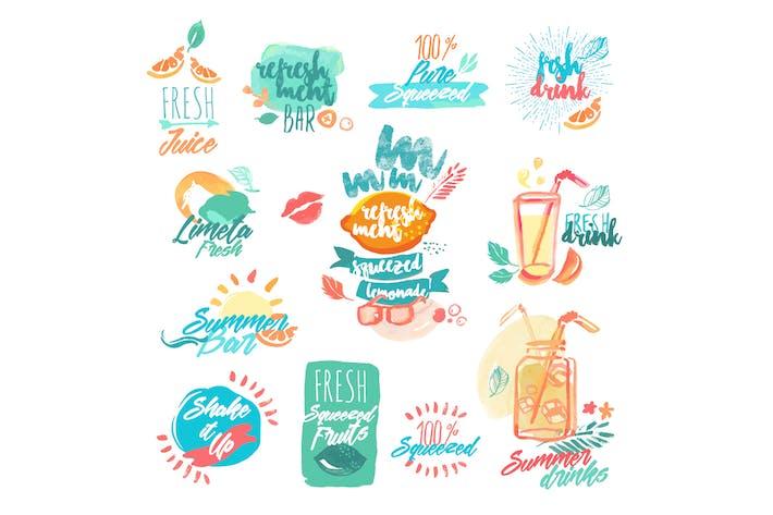 Thumbnail for Frischer Fruchtsaft und Getränke