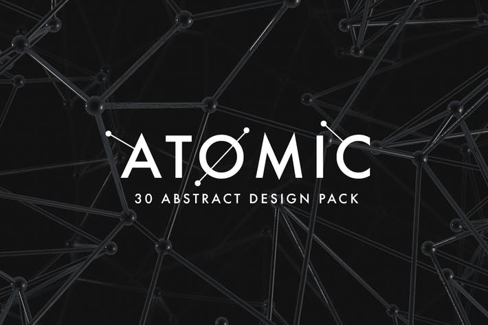 Cover Image For Atomic - 30 Abstract Design Pack