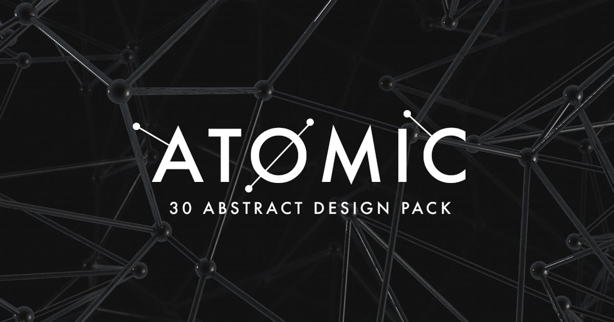 Download Atomic - 30 Abstract Design Pack by micromove