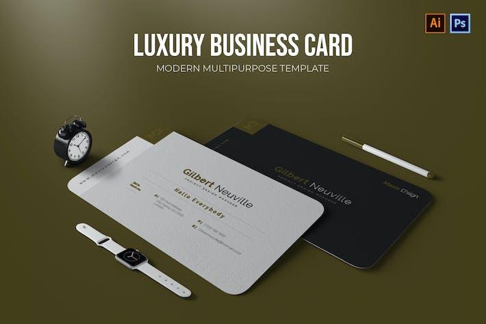 Luxus - Visitenkarte
