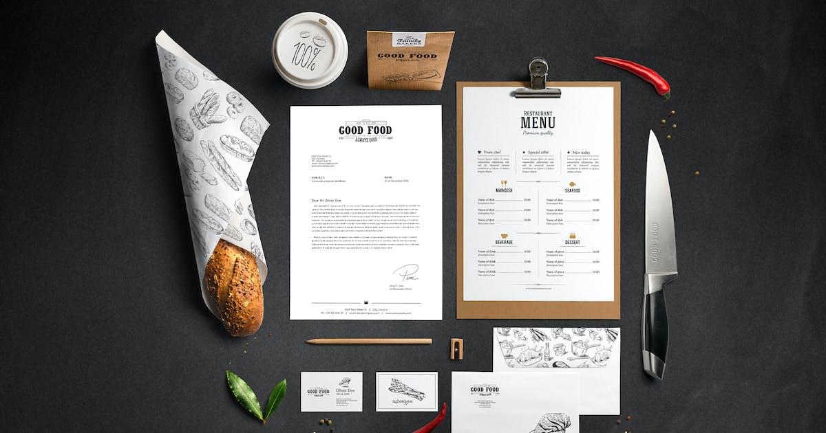 Download Restaurant Food Mockup by Genetic96