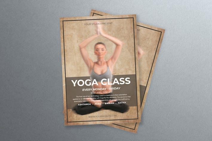 Thumbnail for Yoga Training Flyer