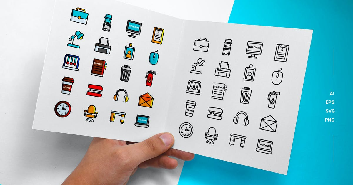Download Workplace - Icons by esensifiksi