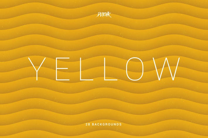 Thumbnail for Yellow | Soft Abstract Wavy Backgrounds