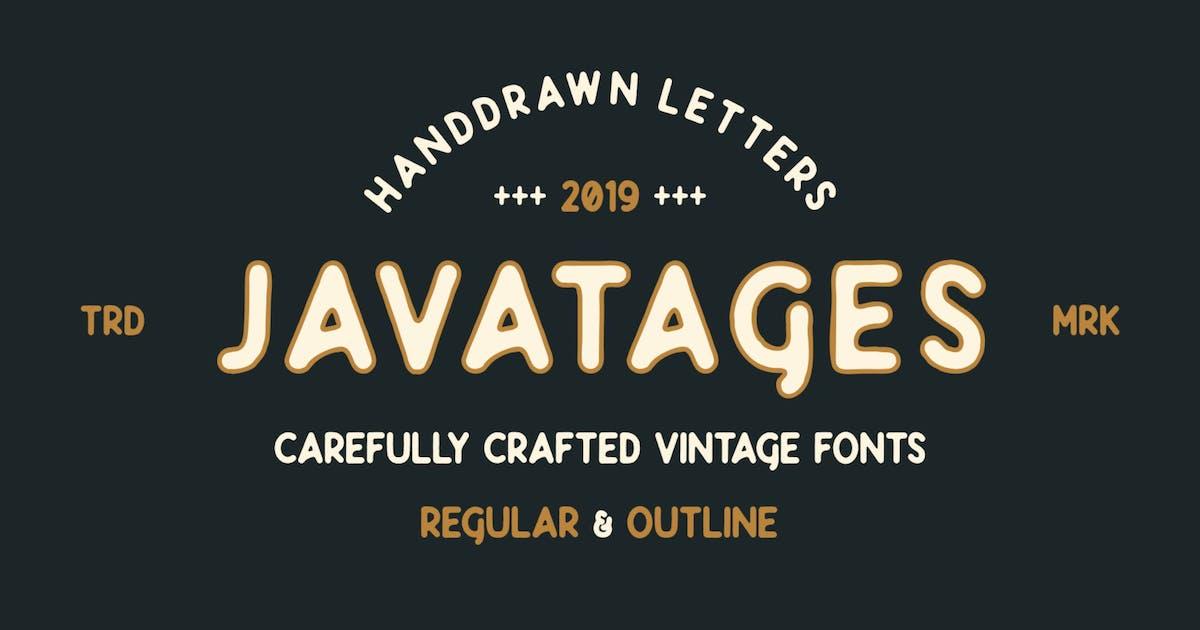 Download Javatages Bold GJ - Vintage Font by GranzCreative