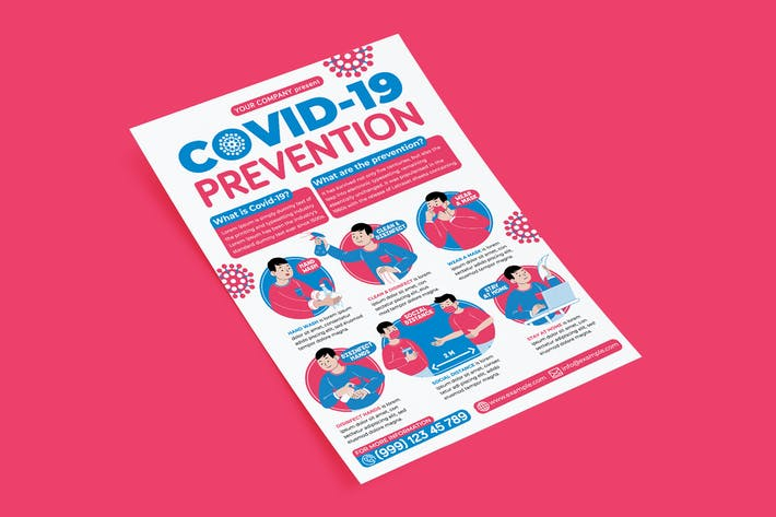 Thumbnail for Covid-19 Prevention Flyer