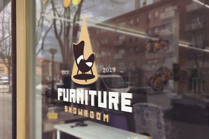 Thumbnail for Decor Glass Logo Mockup