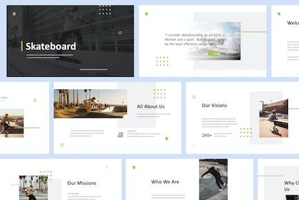 Skateboard Powerpoint Presentation Template