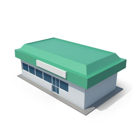 Generic Cartoony Station Shop