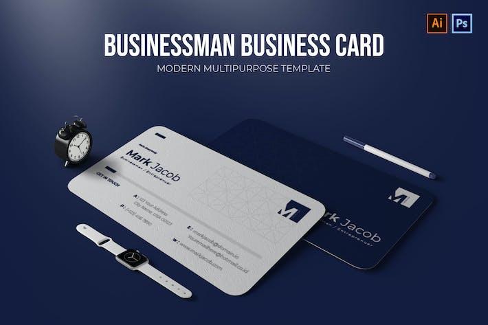 Thumbnail for Homme d'affaires - Carte de visite