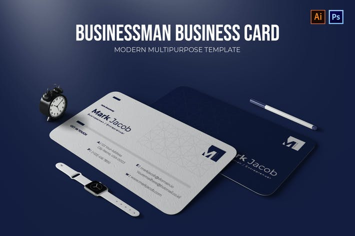 Businessman - Business Card