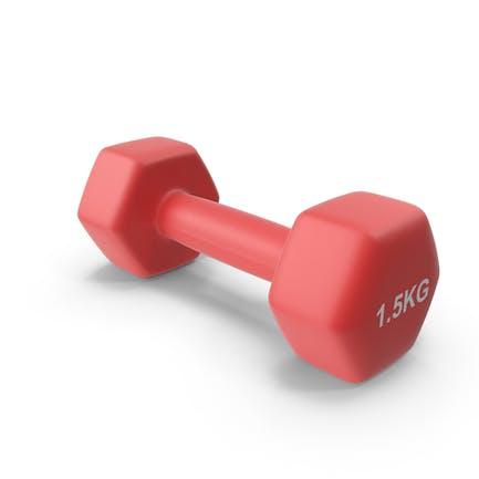 Single Fitness Dumbbells 1.5kg