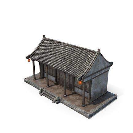Pequeña casa china