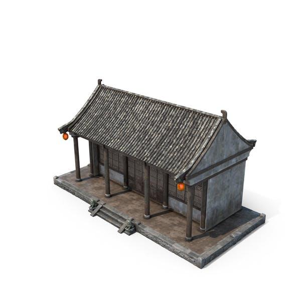 Китайский маленький дом