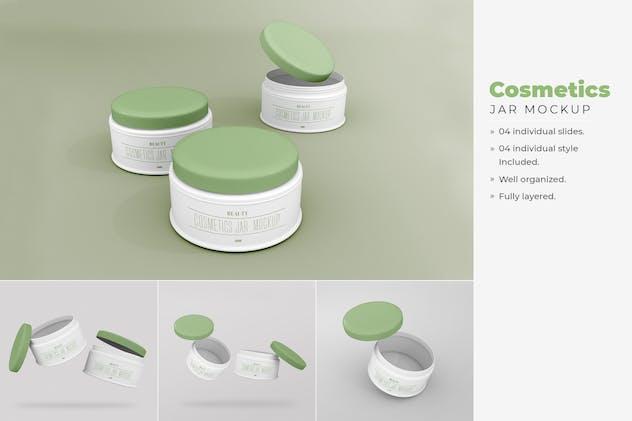 Cosmetic Jar Mockup - Vol 02