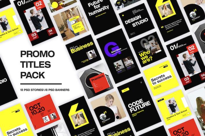 Promo-Titel-Paket