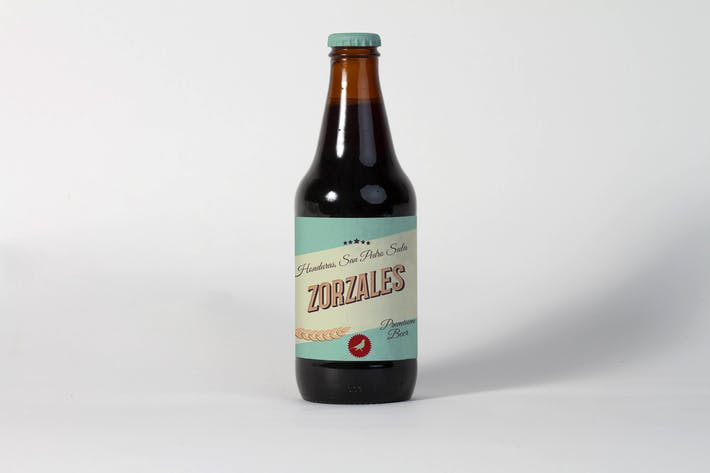 Thumbnail for Small Beer Bottle Mock Up