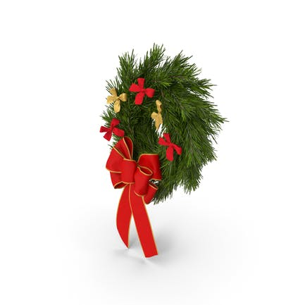 Christmas Wreath with Bows