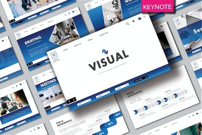 Thumbnail for VISUAL - Шаблон Keynote