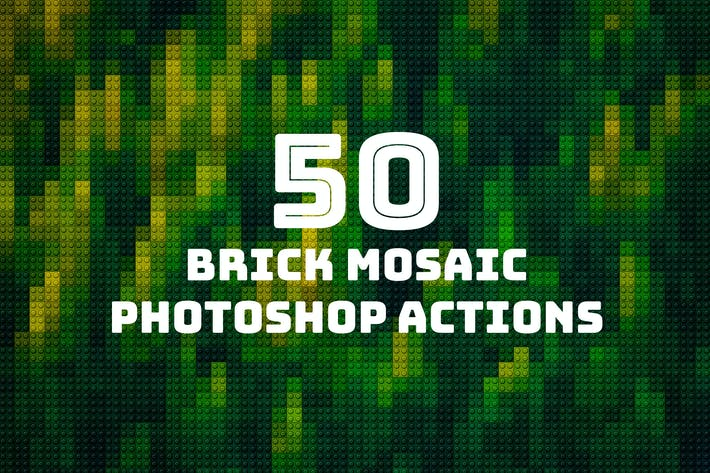 Thumbnail for 50 Brick Mosaics Actions