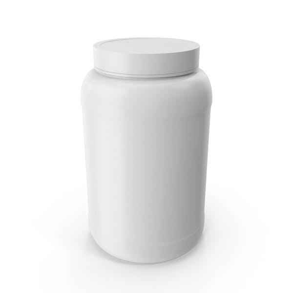 Пластиковые бутылки Широкий рот 1 5 Галлон Белый