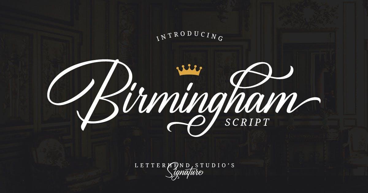 Download Birmingham - Signature Script by letterhend