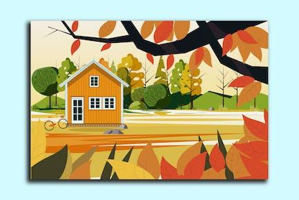 Ilustración House Village
