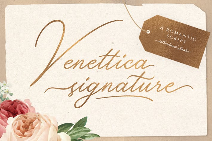 Thumbnail for Venettica Signature Romantic Script