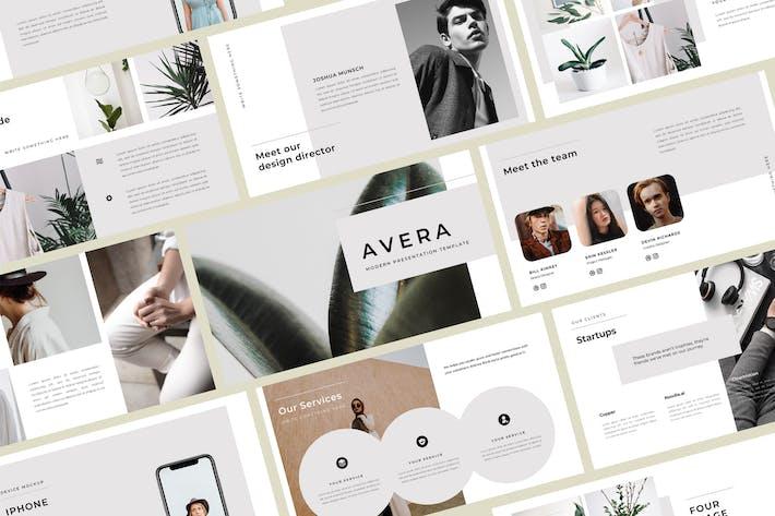 Thumbnail for Avera Keynote Template