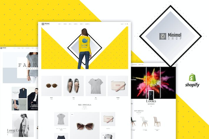 Thumbnail for Minimal Shop | WooCommerce Shop