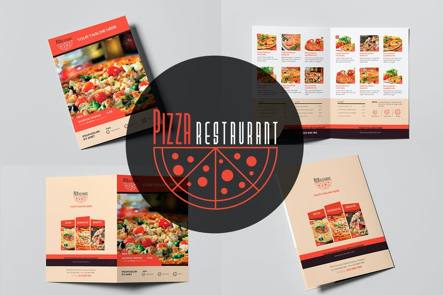 Pizza Restaurant - Menu Template