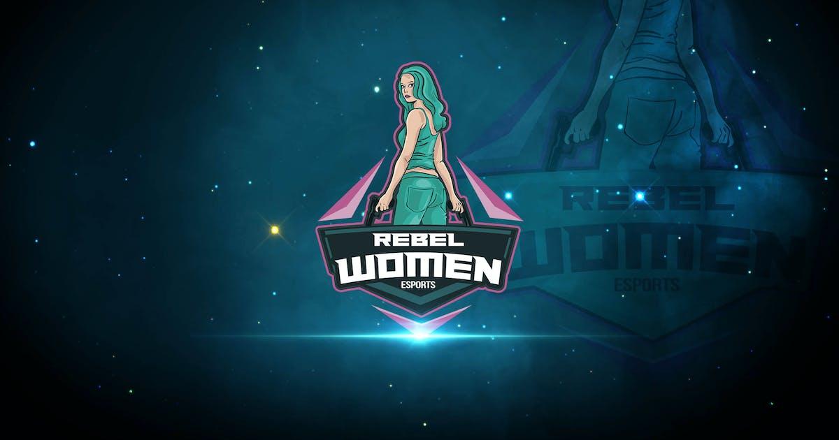 Download Rebel Women Esports Logo by uicreativenet