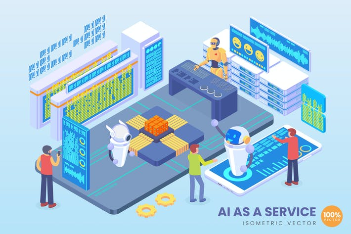 Thumbnail for Isometric Artificial Intelligence As a Service