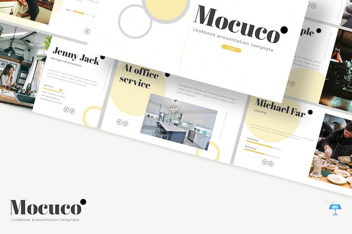 Thumbnail for Mocuco - Keynote Template