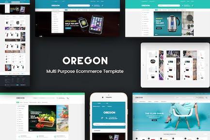 Oregon - Responsivo Prestashop Tema