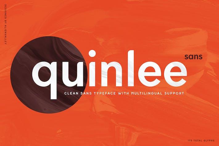 Quinlee - Versatile Sans Serif