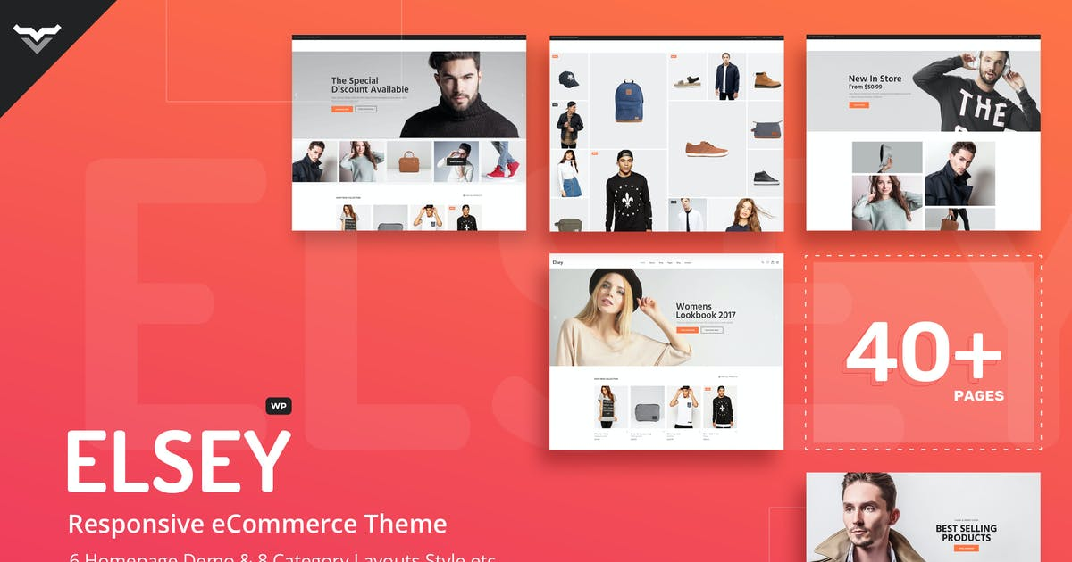 Download Elsey - Responsive eCommerce Theme by VictorThemes