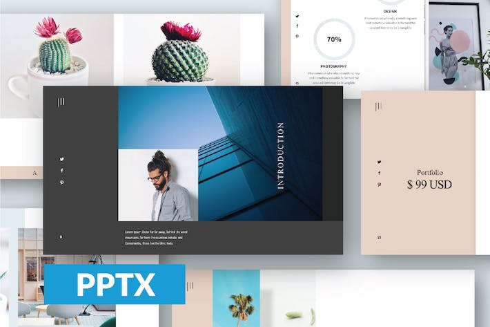 Thumbnail for Gorgeous Powerpoint Template LS