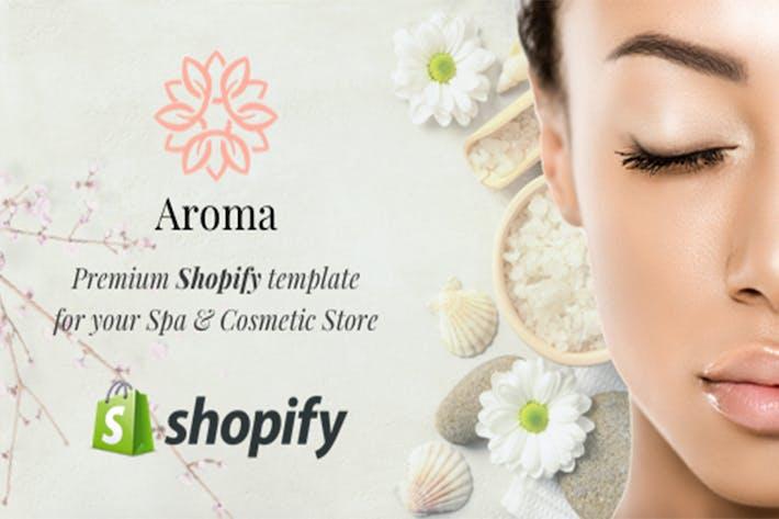 Thumbnail for Aroma - Spa Shopify Tema