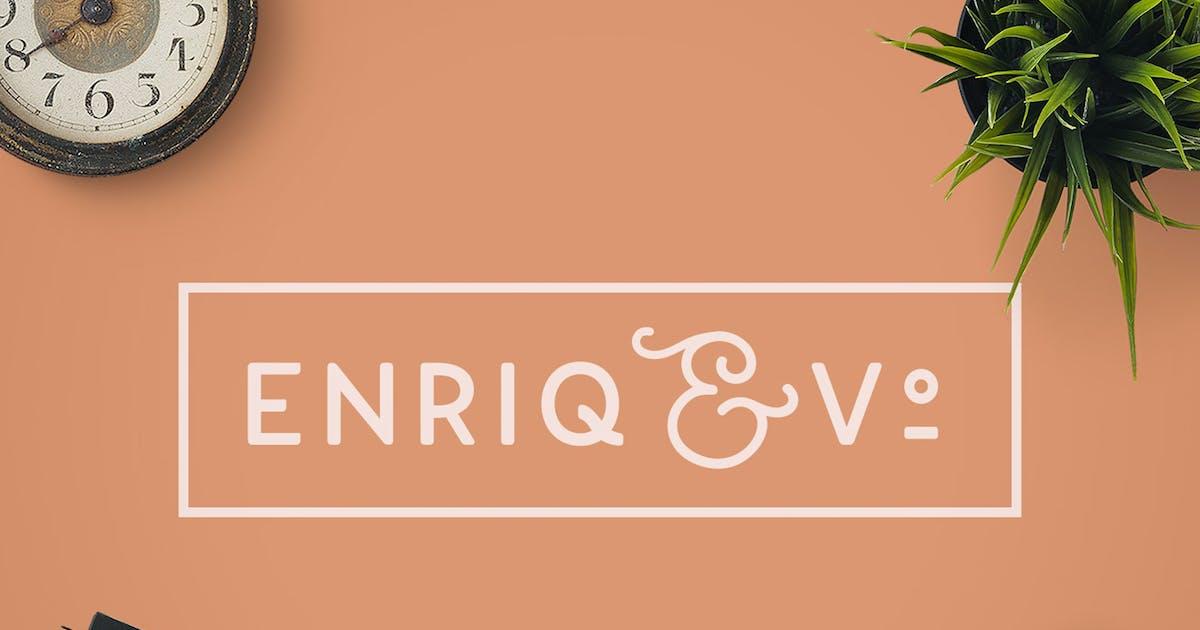 Download Enriq Round Sans Serif Font by NEWFLIX