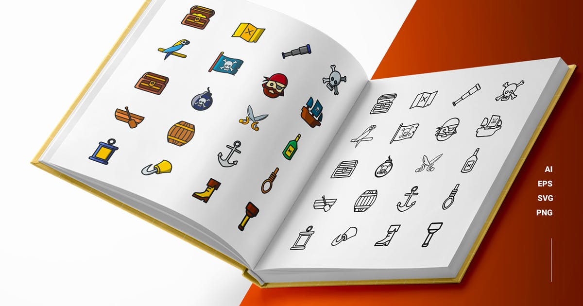 Download Pirates - Icons by esensifiksi