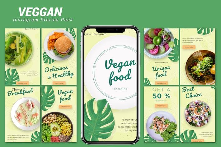 Thumbnail for Veggan - Instagram Template Pack